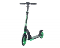 Самокат городской TRIX Aztec, колеса 230/200, черный/зеленый
