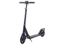 Самокат городской TRIX Mauran, колеса 200/200, черный/фиолетовый