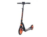 Самокат городской TRIX Mercury, колеса 230/180, черный/оранжевый