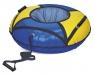 Санки надувные  D-700 ЭКОНОМ с камерой, синий-желтый