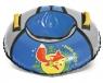 Санки надувные  D-700 с камерой, Лисёнок, голубой-серый